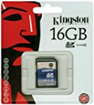 Kingston 16 GB Class 4 SDHC Flash Mem...