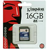 "Kingston SDHC Class 4 Secure Digital (SDHC) SD-Speicherkarte 16 GBvon ""Kingston"""