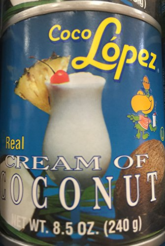 Coco Lopez coconut cream 6 cans 8.5 onz (Coco Lopez Cream Of Coconut compare prices)