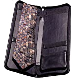 Winn Leather Zippered Tie Case