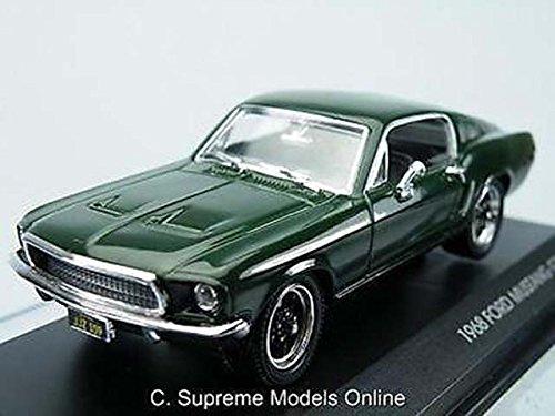 bullitt-1968-mustang-gt-steve-mcqueen-car-model-ford-1-43-green-issue-k8967q