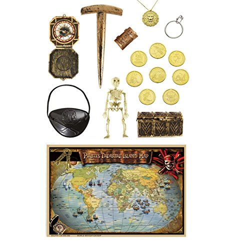 Set Accessori Lusso per Travestimento da Pirata
