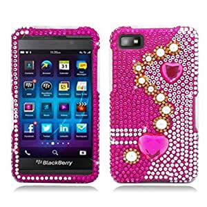 AIMO Bling Case for Blackberry Z10 (Pearl Pink)