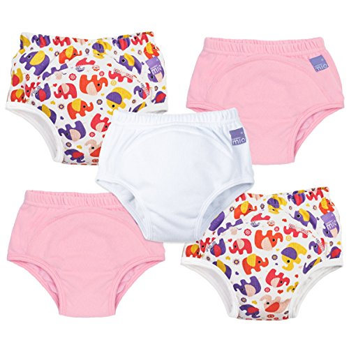 Bambino Mio Potty Training Pants Mixed Pack, Girls, 3+ Years, 5 Count