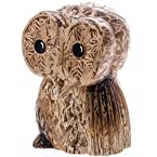 Small Carved Wood Owl