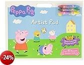 Peppa Pig Artist Pad con Colori inclusi