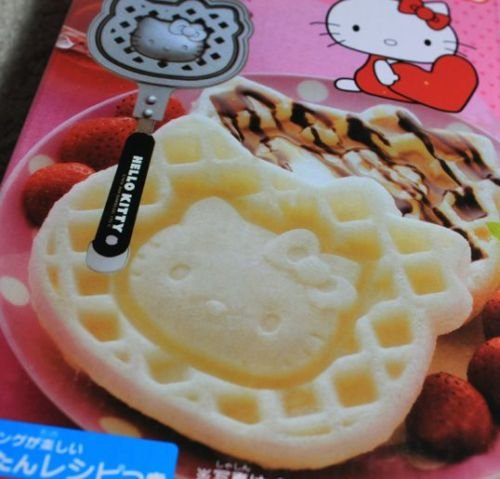 Sanrio Hello Kitty Waffle Maker Non-Stick Iron Officially Licensed