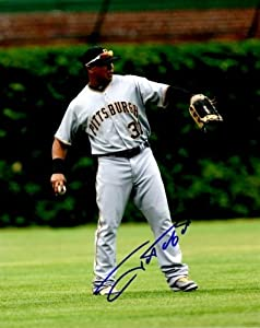 Buy Autographed Hand Signed 8x10 8x10 Photo Jose Tabata - Pittsburgh Pirates by Hall of Fame Memorabilia