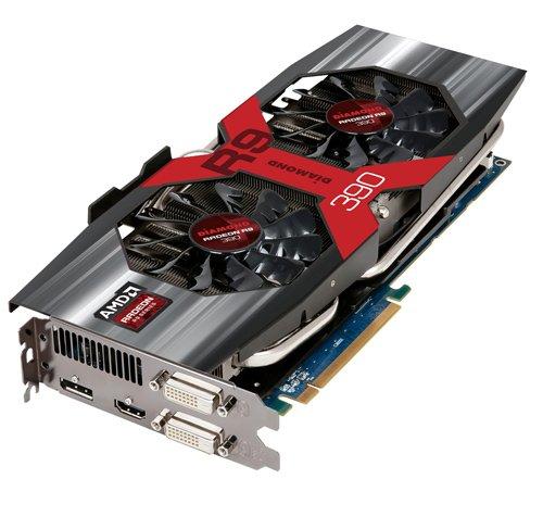 Diamond Multimedia AMD R9 390 PCIE GDDR5 8GB Memory Graphics Video Card R9390D58G