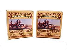 buy Warrior'S Brew Native American Herbal Tea (2 Pack), Cinnamon Flavor