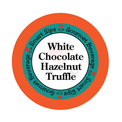 Smart Sips, White Chocolate Hazelnut Truffle Coffee, 24 Count, Single Serve Cups for Keurig K-cup Brewers (Keurig Tim Hortons Hot Chocolate compare prices)