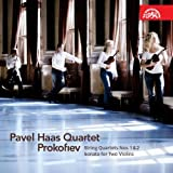 Prokofiev : String Quartets Nos. 1 & 2 / Sonata for Two Violins ~ Pavel Haas Quartet