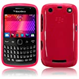 BLACKBERRY CURVE 9360 GEL SKIN CASE / COVER - HOT PINK PART OF THE QUBITS ACCESSORIES RANGE