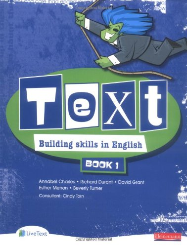 Text Building Skills in English 11-14 Student Book 1: Student Book Bk. 1