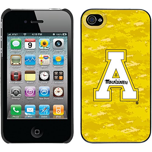 Appalachian State Designs On Black Iphone 4S / 4 Thinshield Snap-On Case