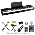 Casio CDP-120 Digital Piano Deluxe Bu...