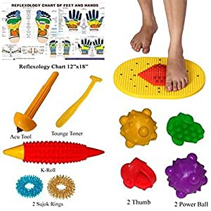 Buy Bumper Acupressure Mat With Magnets Pyramids For Pain