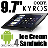 Coby Kyros 9.7 inch Ice Cream Sandwich Android Capacitive Ta...