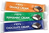 Fry's Chocolate Cream MIX 49g x 12 Bars 4 x Chocolate Cream 4 x Peppermint Cream 4 x Orange Cream