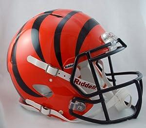 NFL Cincinnati Bengals Speed Authentic Football Helmet by Riddell