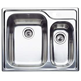 Blanco : 511-969 Specialty Stainless Steel Sink (Depth: 10in / 6in)