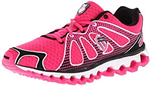 K-Swiss Women's Tubes Run 130 Running Shoe,Neon Pink/Black,8 M US