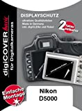 DigiCOVER LCD Screen Protection Film for Nikon D5000