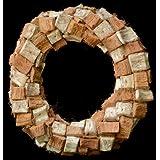 Exotic Creations Sweet Vanilla - Dried flower wreath(Natural,L=40 cm X W=40 cm X D= 40 cm)