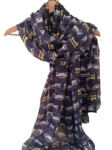 ladies-women-vw-camper-van-beetle-motor-car-new-navy-blue-scarf-wrap-pashmina