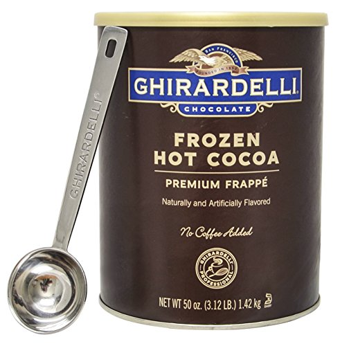 Ghirardelli - Frozen Hot Cocoa Premium Frappé 3.12lbs - with Exclusive 1.5 tbsp Measuring Spoon (Ghirardelli Beverage compare prices)