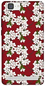 The Racoon Grip Cherry Flowers hard plastic printed back case / cover for Vivo X5 Max