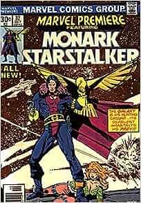 .com: Marvel Premiere #32 featuring Monark Starstalker: Marvel: Books