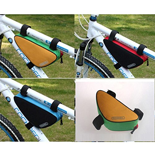 Outdoor Front Saddle Bag Top Tube Frame Pouch Cycling Bicycle Bike Triangle Bag