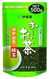 伊藤園 おーいお茶 若芽・若茎入り緑茶 煎茶 500g