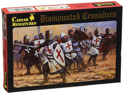 Caesar Miniatures 086 - Set di soldatini in scala 1:72, motivo: crociati