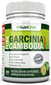 75% HCA PURE GARCINIA CAMBOGIA EXTRACT- 4200MG/Day – 180 Capsules – 3rd Party Tested Actual HCA…