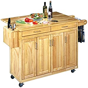 Home Styles 5023-95 Wood Top Kitchen Cart | Home & Kitchen Products !!