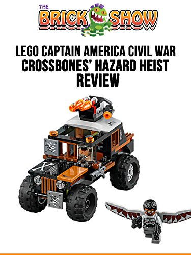 LEGO Captain America Civil War Crossbones' Hazard Heist Review (76050)