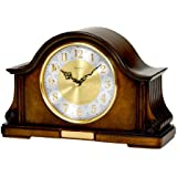 Bulova B1975 Chadbourne Old World Clock, Walnut Finish