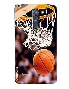 Omnam Basket Ball Net Printed Designer Back Cover Case For LG G3 Stylus