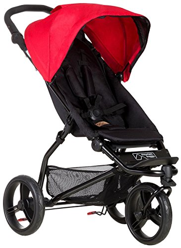 Mountain Buggy MB Mini Compact Travel System, Berry | Thebabbyjogger.net