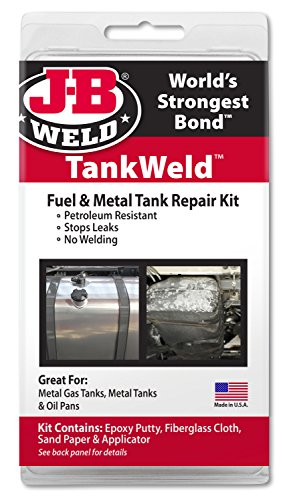 J-B Weld 2110 Metal Fuel Tank Repair Kit (Fuel Tank Putty compare prices)