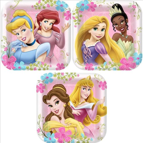 Disney Princess 'Fanciful Princesses' Small Paper Plates (8ct)