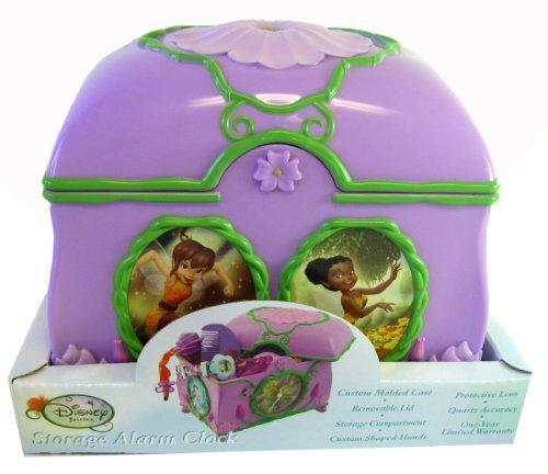 Disney Fairies Alarm Clock with Compartment, 6H