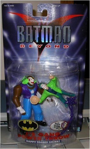 "BATMAN BEYOND "" JOKER'S GANG "" HAPPY TOSSES SMIRK MOC"