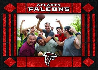 Atlanta Falcons Art Glass Horizontal Frame