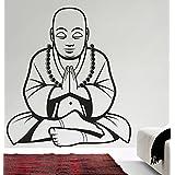 Decal Style Buddha Wall Sticker Small Size-19*21 Inch