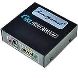 Mondpalast ® HDMI Splitter 2 fach 1x2 1080p auch für 3D 1:2 Verteiler HDCP Full HD