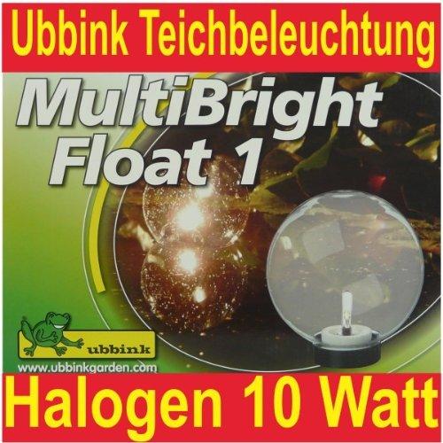 Ubbink Lichtkugel Teichbeleuchtung Multi Bright Float1