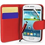 Connect Zone� Red PU Leather Wallet F...